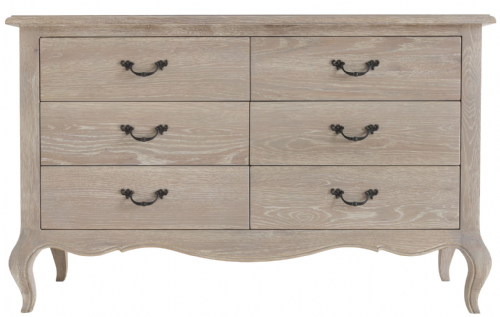 French Château 6 Drawer Chest